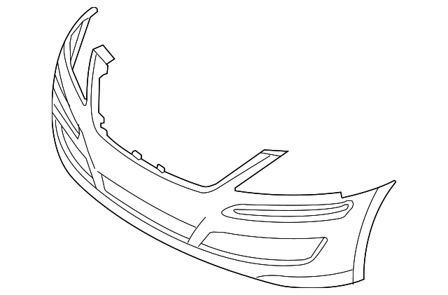 Right Genuine Hyundai 86562-3N000 Bumper Grille Front