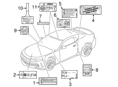 Camaro Parts Diagram