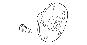 Hub Assembly, Rear - Honda (42210-SJC-A00)