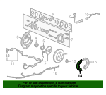 Shoe A, Parking Brake - Honda (43153-S9V-A21)