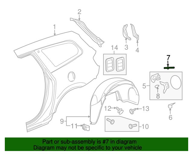 Cool Fuel Door Rivet Gm 11519023 Gmpartsdirect Com Wiring 101 Akebwellnesstrialsorg