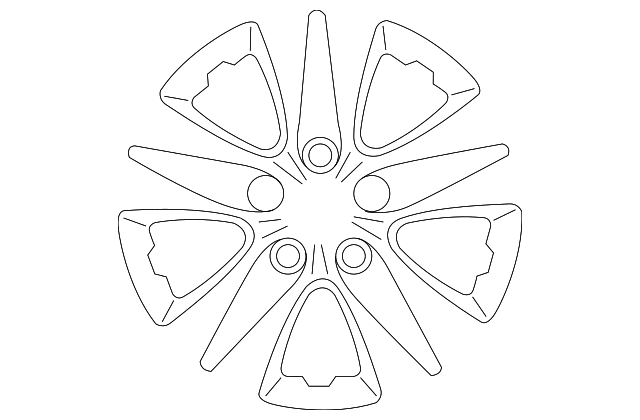 Genuine Kia Wheel Cover 52960
