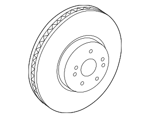 Disc Brake Rotor - Toyota (43512-48130)