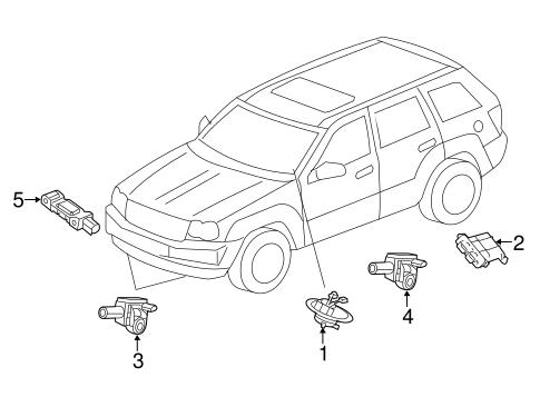 Air Bag Components For 2018 Dodge Durango