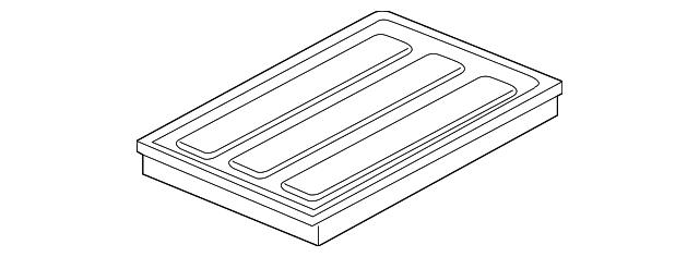 Air Filter - Mopar (68190705AA) | Mopar Parts Canada