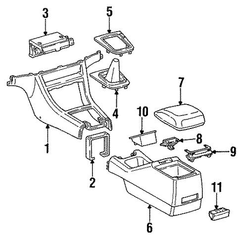 B C E Bd A F on Toyota Camry Transmission Housing Belts