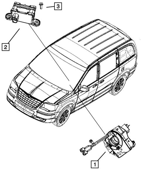 Sensors For 2008 Dodge Grand Caravan