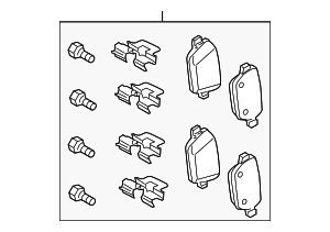 Brake Pads - Land-Rover (LR043285)