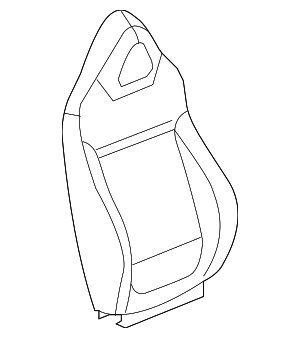 Seat Back Cover - GM (25967110)