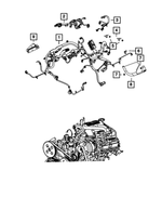 Engine Wiring - Mopar (68081223AH)