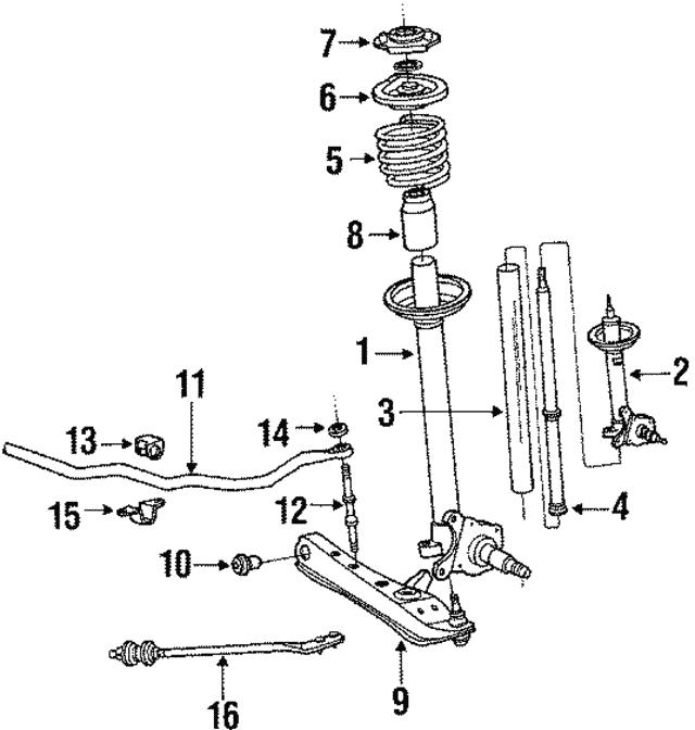 Toyota 48331-12220 Spring Bumper