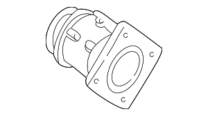 Mass Air Flow Sensor - Ford (F6UZ-12B579-YRM)
