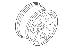 Wheel, Alloy - BMW (36-11-1-096-228)