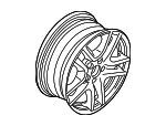 Wheel, Alloy - BMW (36-11-6-761-929)