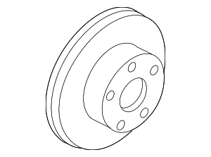 Rotor - Nissan (40206-AM800)