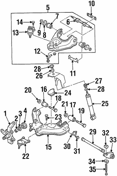 Suspension Components For 2003 Isuzu Rodeo Sport