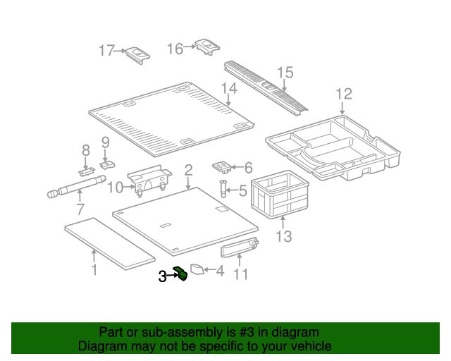 Hinge mercedes benz 211 680 05 14 mb parts exp for Oem mercedes benz parts