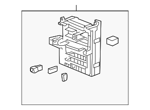 2008 2010 cadillac cts fuse box 20765591 gmpartshouse. Black Bedroom Furniture Sets. Home Design Ideas