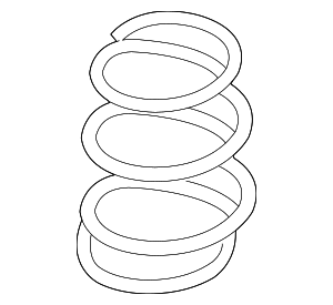 Coil Spring - Nissan (55020-3YV1A)