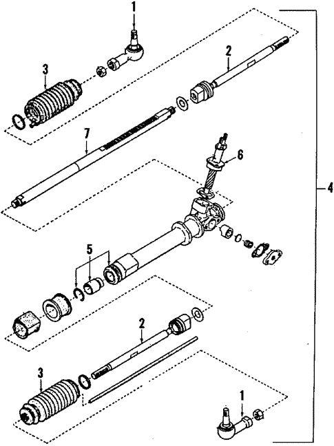 steering gear linkage for 1987 subaru gl 10 subaru parts Subaru GL Wagon Under Hood steering steering gear linkage for 1987 subaru gl 10 2