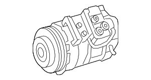 Compressor Assembly - Mercedes-Benz (000-830-21-00)