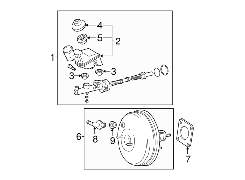 BRAKES/HYDRAULIC SYSTEM for 2005 Toyota Matrix #1