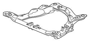 Sub-Frame, Front Suspension - Acura (50200-TYR-A01)