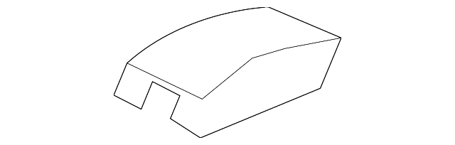 TOYOTA Genuine 64330-52270-C0 Package Tray Trim Panel Assembly