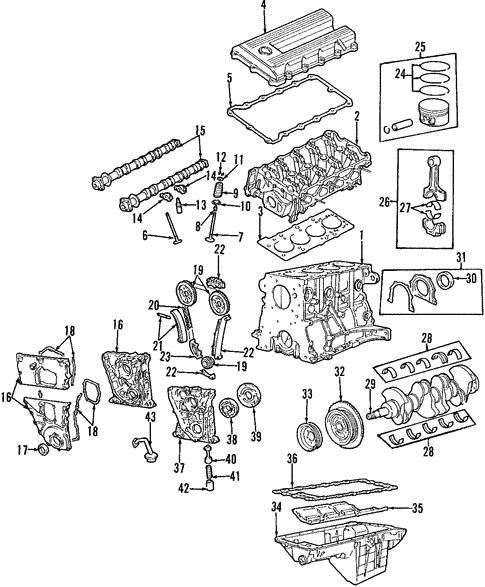 Oil Pump For 1996 Bmw Z3