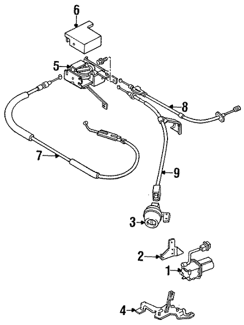Cruise Control System For 1994 Dodge Colt