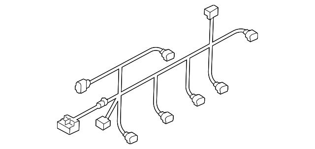 audi wire harness  8w9