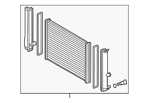 Radiator Assembly - Toyota (16400-37290)