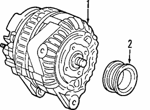Alternator - SUPERSEDED BY MULTIPLE UPDATED PARTS