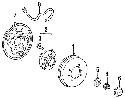 Brake Drums further Pontiac G5 Engine Diagram in addition 1hddp Set Timing 2001 Hyundai Accent 1 5l additionally Saab 2002 9 3 Engine Diagram Get Free Image together with Honda Accord Door Seal. on 1998 hyundai accent parts