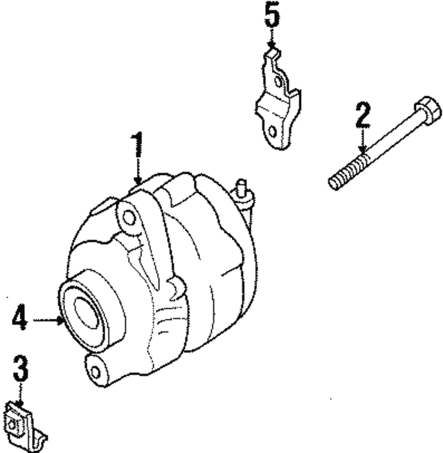 Alternator Bolt - Nissan (11916-31U0A)