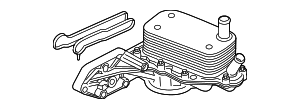 Oil Cooler - Ford (BK3Z-6881-D)