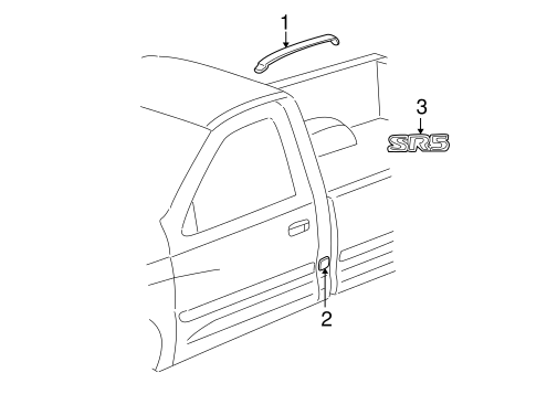 BODY/EXTERIOR TRIM - CAB for 2006 Toyota Tundra #2