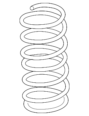 Coil Spring - Nissan (54010-ZS60B)