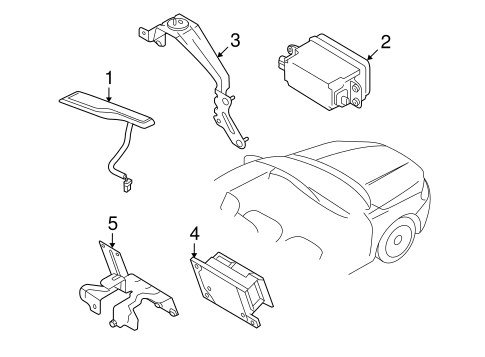 Electrical Components For 2008 Volvo V70