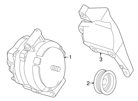 Alternator For 2007 Mercury Mariner