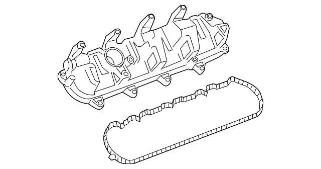 GM OEM-Engine Valve Cover 55351452