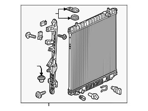 Radiator Assembly - GM (84466156)