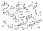 Exhaust Manifold - Mercedes-Benz (156-140-01-09)