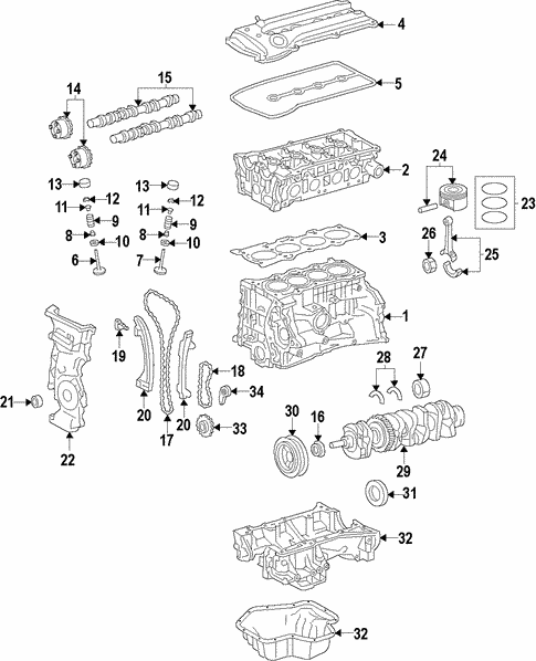 Engine/Engine for 2014 Nissan Versa #1