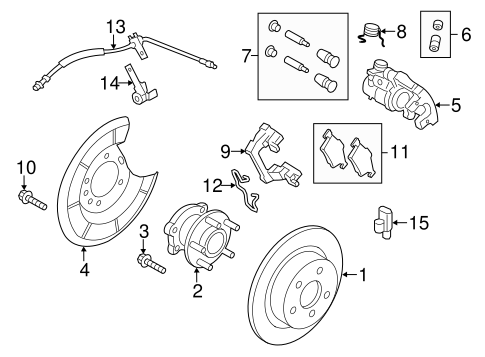 Brakes/Anti-Lock Brakes for 2013 Ford Escape #3