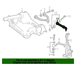 Lateral Arm And Ball Joint Assembly - Mercedes-Benz (205-330-84-03-64)