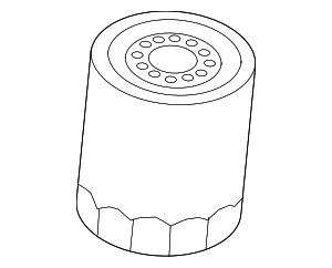Oil Filter - Ford (BE8Z-6731-AC)
