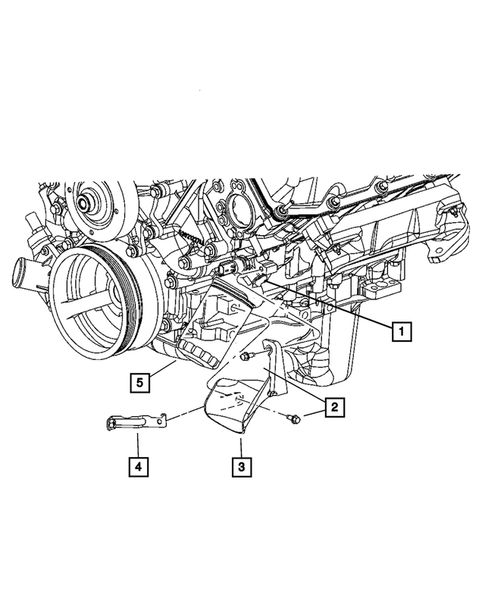 [SCHEMATICS_4CA]  Engine Oiling for 2007 Jeep Commander | DodgeParts.com | 2007 Jeep Commander Engine Diagram |  | Dodge Parts