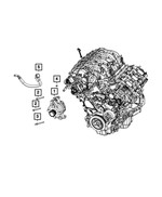 Alternator - Mopar (56029789AA)