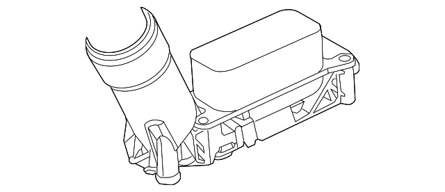adapter-engine oil filter